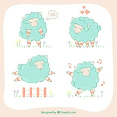 Sketchy sheeps