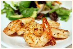 Oven Grilled Shrimp