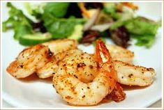 Oven Grilled Shrimp