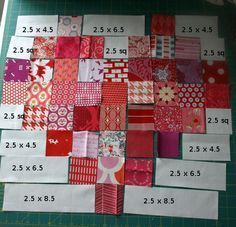 Heart Quilt - Free Pattern and Tutorial Exactly 42 squares in this heart! 1 pack Moda CandyExactly 42 squares in this heart! Rag Quilt, Scrappy Quilts, Easy Quilts, Small Quilts, Mini Quilts, Quilt Top, Heart Quilt Pattern, Quilt Block Patterns, Pattern Blocks