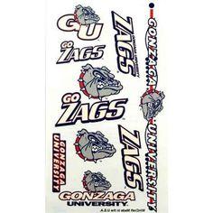 Gonzaga Bulldogs Temporary Tattoos-