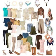 "Minimalist wardrobe, soft autumn, theatrical romantic, ""8"" body shape"