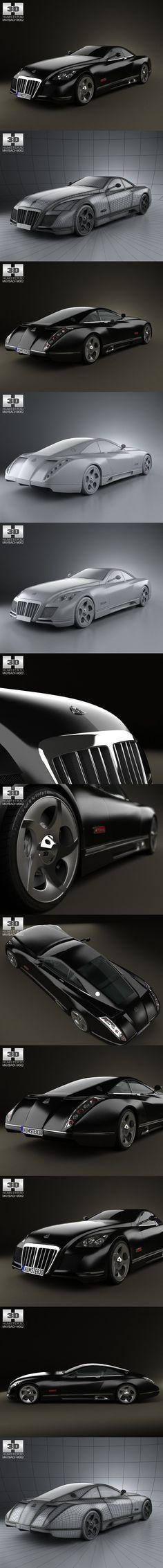 Maybach Exelero 2005. 3D Vehicles