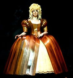 World of Wearable Art, Wellington, New Zealand, section winner 2009 - Lady Of The Wood by David Walker, Alaska