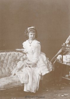 Empress Elisabeth's youngest daughter Marie Valerie.