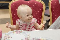Party Shoots - Cadam Photography A photo of a sweet little girl enjoying cake at a birthday party!