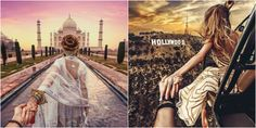This Russian couple have taken the world by storm with their spectacular and unique photographs from their travels around the world. Muradhas captured his wife Nataly leading him to various exotic l...