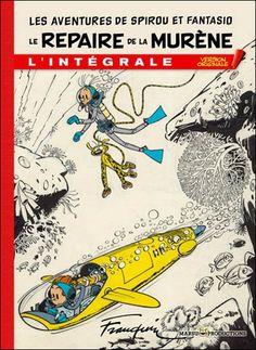 Spirou Et Fantasio L Integrale Version Originale Tome 2 Le Repaire De La Murene Andre Franquin Relie Achat Livre Spirou Franquin Andre Franquin
