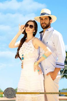 Coral Blue de Aldrin #guayabera #style #moda
