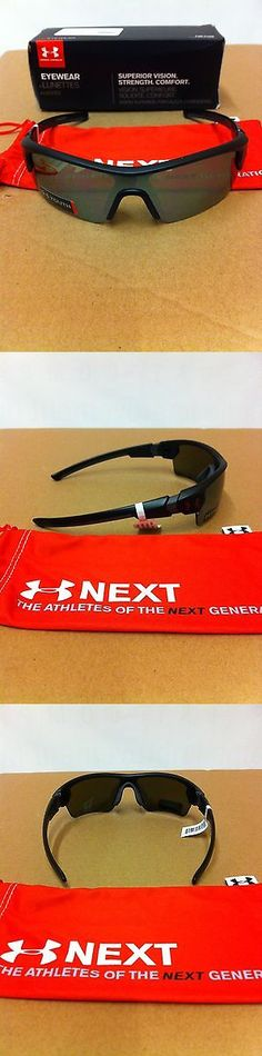Sunglasses 131411: Under Armour Menace Youth Satin Black Game Day Sunglasses Make Offers -> BUY IT NOW ONLY: $65 on eBay!