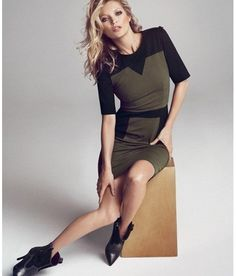 Designer Stealer Army Green Dress (S-M-L) Ships Free $34.99