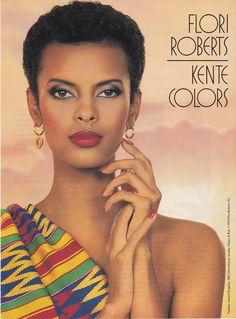 Anna Getaneh for Flori Roberts Cosmetics.
