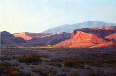 "Desert Zing, oil 20"" X 30"" by Jim Wilcox"