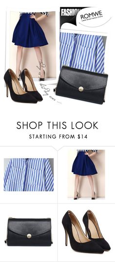 """""""ROMWE 8/8"""" by melissa995 ❤ liked on Polyvore"""