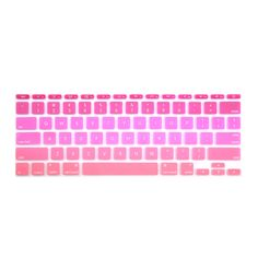 01522dae5 Batianda Air 11 inch US Enter Rainbow Color Silicone Keyboard Cover  Stickers Fit For Apple Macbook