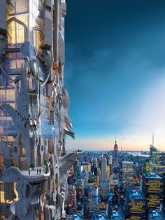 Mark Foster Gage's Manhattan Skyscraper Takes Gothic Architecture to New Heights