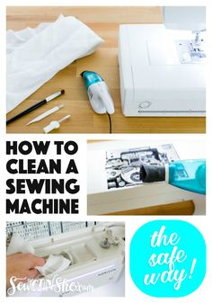 Clean your sewing machine the right way!
