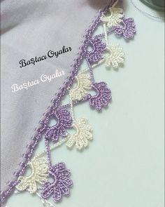 Crochet Flower Tutorial, Crochet Flowers, Crochet Lace, Baby Knitting Patterns, Crochet Patterns, Hand Embroidery, Embroidery Designs, Saree Kuchu Designs, Knit Shoes