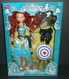 Disney Store Deluxe Talking Merida Doll Set NEW! #Disney