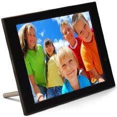 PIX-STAR FOTOCONNECT XD 16011 – MARCO DE FOTOS DIGITAL LCD DE 10.4″, COLOR NEGRO
