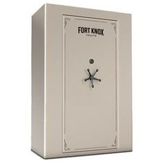 """Fort Knox Defender/ 90 Minute - 73 Gun Vault Specifications Height: 72.5"""" Width: 51"""" Volume: 57 cu. ft. Depth/Overall: 27""""/30"""" Weight: 1502 lbs Locking Bolts: 13 - 1 1/2"""""""
