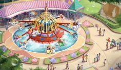 Dumbo the Flying Elephant, Gardens of Imagination, Shanghai Disneyland