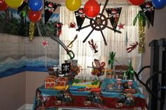 Jake and the Neverland Pirates party #pirate #party