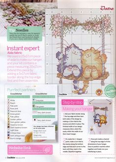 Perfect Partners (Margaret Sherry) From Cross Stitcher N°196 February 2008  2 of 2