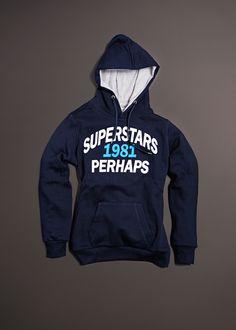 visita nuestra web   www.perhaps.es  Sudadera de mujer Superstars