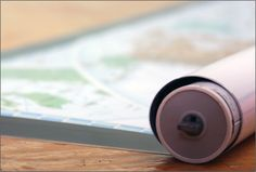 Spring Roller Wall Maps