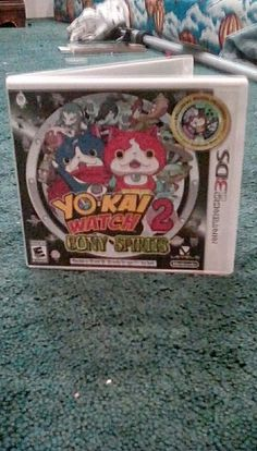 Yo- kai watch 2 Bony Spirits case.