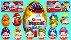 20 Surprise Eggs Kinder Surprise Cars 2 MAXI egg Маша и Медведь Monsters... #Surpriseeggs #Toys #Disney #DisneyPixar #PixarCars #KinderSurprise #Surprise #Toy #MyLittlePony #HelloKitty #PeppaPig #MickeyMouse #Baby #Pixar #MinnieMouse #Cartoons #YouTube #Hello #spiderman #starwars #dora #Маша