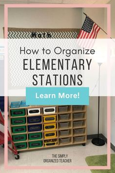 Not sure how to store materials for your centers when they are not being used? The Simply Organized Teacher shares how to setup and organize your centers all year long. Guided Reading Organization, Teacher Organization, Teacher Hacks, Organization Hacks, Literacy Stations, Literacy Centers, Teacher Must Haves, Organized Teacher, First Year Teachers