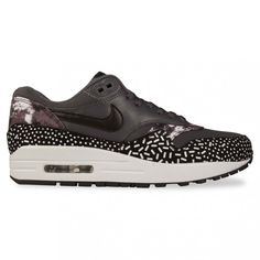 Nike Sportswear AIR MAX 1 WOMENS PRINT, Grey/Black/Silver @ Hype DC