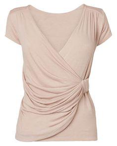 Women's PinkWalda Wrap Top