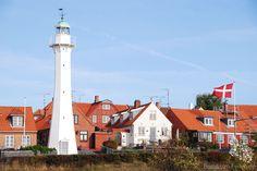 #Lighthouse Rønne Bagfyr/ #Leuchtturm Rønne Bagfyr - Bornholm #ronnebagfyr #rønne…    http://dennisharper.lnf.com/