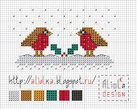 Мои творилки *** Aliolka design: Праздничные птички