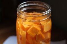jar of butternut squash