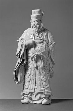 "This figurine (""okimono"") depicts Takenouchi No Sukune, who was the Great Imperial General of the 4th century of Japan."