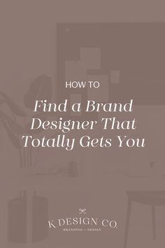 Need to find a brand designer ASAP? Find out why there's more to hiring a designer than just asking a friend or picking the first creative person you meet. Graphic Design Tips, E Design, Branding Your Business, Creative Business, Diy Projects Gone Wrong, Branding Design, Logo Design, Brand Strategist, Social Media Graphics