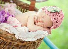 Love it all! The hat, the basket, the tutu! Adorable!