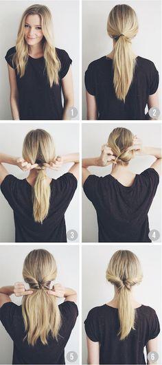 Realiza estos 3 peinados en 5 minutos.