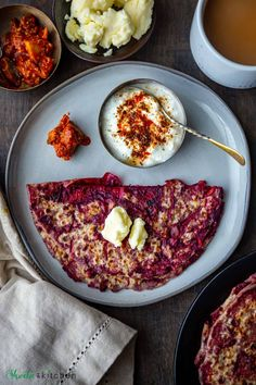 Aloo Carrot Beetroot Paratha with yogurt, pickle and chai make the best breakfast, brunch combination!! #paratha #flatbread #beetroot #Indianfood #veganrecipe Indian Breakfast, Breakfast Dishes, Best Breakfast, Breakfast Recipes, Vegan Indian Recipes, Vegan Recipes, Snack Recipes, Snacks Dishes, Savory Snacks