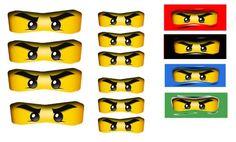 ninjago printable masks - Google Search