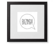 #bazinga, #poster