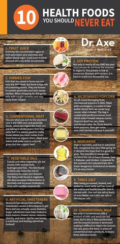 10 Health Foods You Should Never Eat
