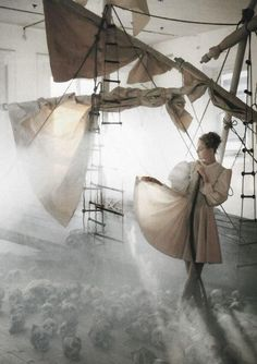 Sail and Swan by Tim Walker.