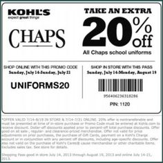 Kohls coupons from staples