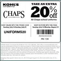 Dennis uniform printable coupons