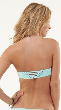 Rip Curl // Desert Fox Bandeau Bikini Top